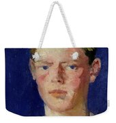 Head Of A Young Man Weekender Tote Bag by Francis Campbell Boileau Cadell