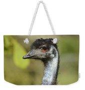 Head Of An Australian Emu Weekender Tote Bag