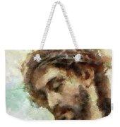 The Head Of Christ Weekender Tote Bag