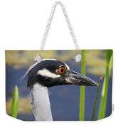 head shot - Yellow crowned Night Heron Weekender Tote Bag