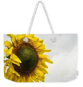 Head Up To The Rains - Sunflower Weekender Tote Bag