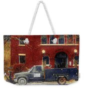 Heading Out To Plow Weekender Tote Bag