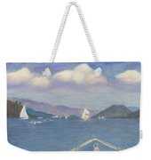 Heading To Dome Island Weekender Tote Bag