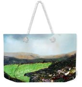 Heading To The Green Land Weekender Tote Bag