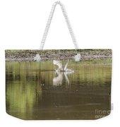 Headless Snowy Egret Of Rum Creek Weekender Tote Bag