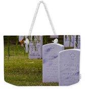 Headstones Of Arlington Cemetery Weekender Tote Bag