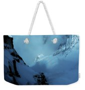 Headwall Mount Blanc Weekender Tote Bag
