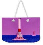 Headwater Lights 2 Weekender Tote Bag