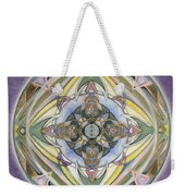 Healing Mandala Weekender Tote Bag