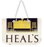Heals Sound Furniture Advertisement Weekender Tote Bag
