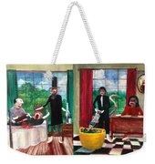 Healthcare Then And Now Weekender Tote Bag