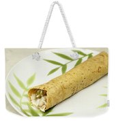 Healthy Burrito On A Plate Weekender Tote Bag