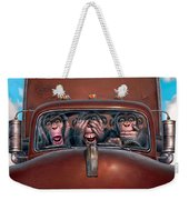 Hear No Evil See No Evil Speak No Evil Weekender Tote Bag