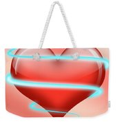 Hearbeat 1 Weekender Tote Bag