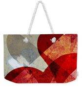 Hearts 8 Square Weekender Tote Bag