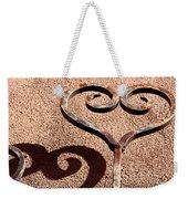 Heart And Shadow Weekender Tote Bag