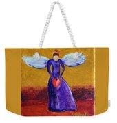 Heart Angel Weekender Tote Bag