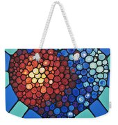 Heart Art - Love Conquers All 2  Weekender Tote Bag