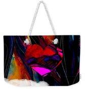 Heart Floating Above Clouds Weekender Tote Bag