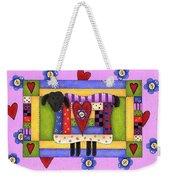 Heart For Ewe Weekender Tote Bag