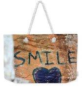 Heart In Sandstone Mountain Weekender Tote Bag