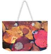 Heart Leaves Weekender Tote Bag