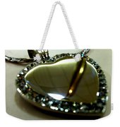 Heart Weekender Tote Bag by Marcello Cicchini