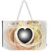 Heart N Soul Fractal Weekender Tote Bag