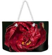 Heart Of A Hibiscus 2 Weekender Tote Bag