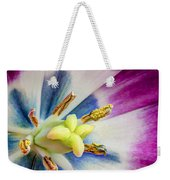 Heart Of A Tulip - Square Weekender Tote Bag