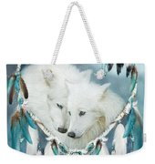Heart Of A Wolf Weekender Tote Bag