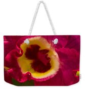 Heart Of An Orchid Weekender Tote Bag