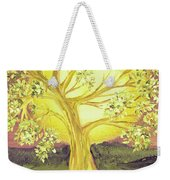 Heart Of Gold Tree By Jrr Weekender Tote Bag