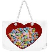 Heart Of Hearts Weekender Tote Bag