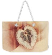 Heart Of Nature Weekender Tote Bag