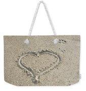 Heart Of Sand Weekender Tote Bag