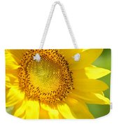Heart Of The Sunflower Weekender Tote Bag