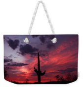 Heart Of The Sunset Weekender Tote Bag
