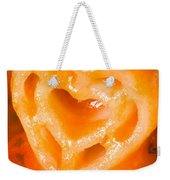 Heart Pasta With Tomato Sauce Weekender Tote Bag
