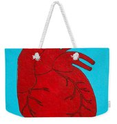 Heart Red Weekender Tote Bag