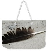 Heart Rock And Feather Weekender Tote Bag