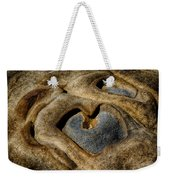 Heart Rock Weekender Tote Bag