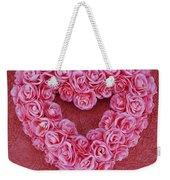 Heart-shaped Floral Arrangement Weekender Tote Bag