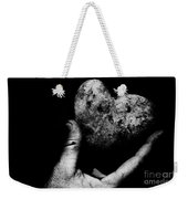 Heart Shaped Rock Weekender Tote Bag
