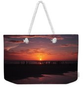 Heart Shaped Sunset In Brazil Weekender Tote Bag