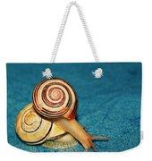 Heart Snails Weekender Tote Bag