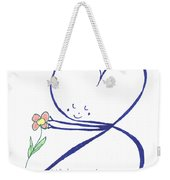 Heart Touches Flower Lovingly Weekender Tote Bag