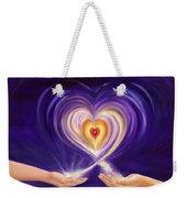 Heart Unity Weekender Tote Bag