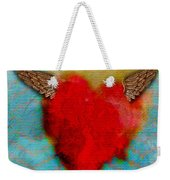 Heart Wings Weekender Tote Bag