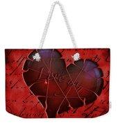 Heartbeat 2 Weekender Tote Bag